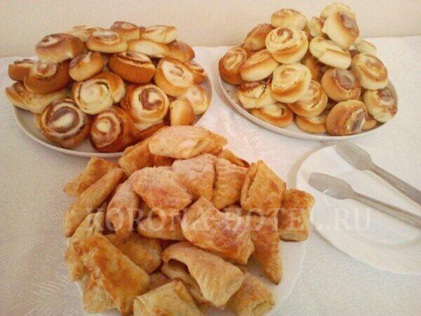 десерты шведского стола